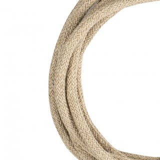 Textile Cable Natural 2C Jute 50 Meter Bailey