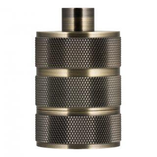 Aluminium grid socket E27