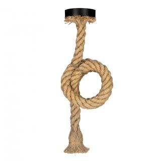 BAILEY Pendelleuchte Rope E27 1.5M Seilkabel 2x0.75mm2