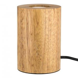 Tischleuchte E27 Holz