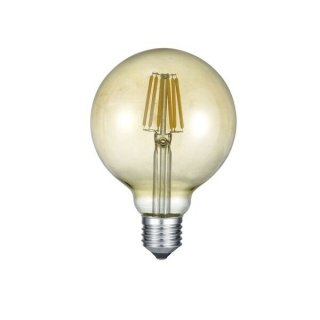 TRIO LED Glas Filament E27 Globe 6W 2700K