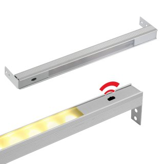 Drawer lighting with integrated PIR sensor and connection cable 414 to 1164 mm