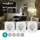 Nedis SmartLife Smart Zwischenstecker 2500W 3er Pack...