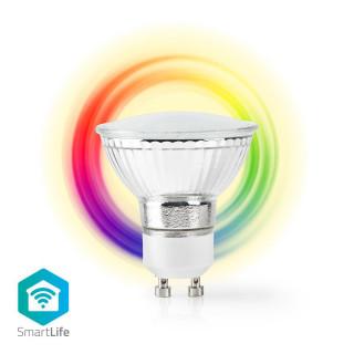 Nedis SmartLife WLAN Smart LED Leuchtmittel GU10 vollfarbe und Warmweiß