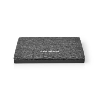 Wireless Charger in Fabric Square 2.0A 10W Black