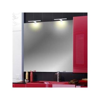 Design Light Amber silber LED Badleuchte Spiegelleuchte 4,5W warmweiß 3000K